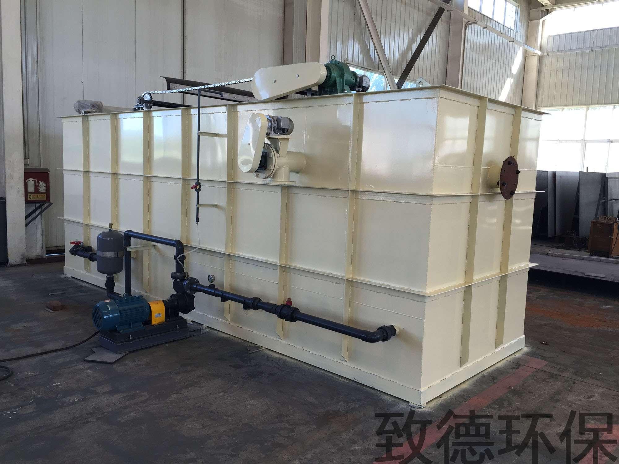水处理50吨每小时溶气气浮机那种类型的运行最稳定?涡流式气浮机